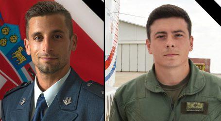 U padu aviona poginuli Marko Novković (31) i Luka Jagatić (25), MORH izrazio sućut