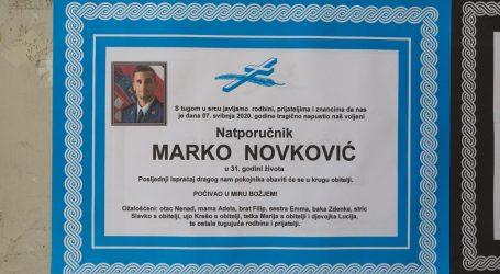 Posljednji ispraćaj natporučnika Marka Novkovića