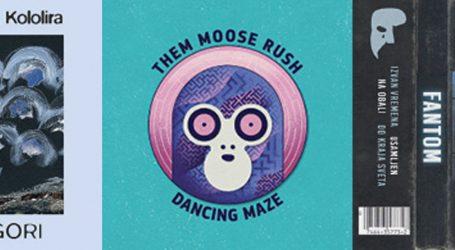 GLAZBENE RECENZIJE: Dunja Knebl i Kololira, Them Moose Rush, Fantom