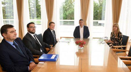 Predsjednik Milanović ugostio izaslanstvom Sveučilišta u Zagrebu