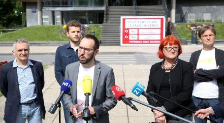 """(VIDEO) Tomašević: """"Zgrada gradskog poglavarstva neuporabljiva za javni interes"""""""