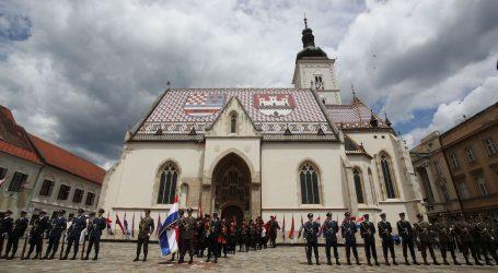 Dan državnosti: Svečanost na Trgu svetog Marka