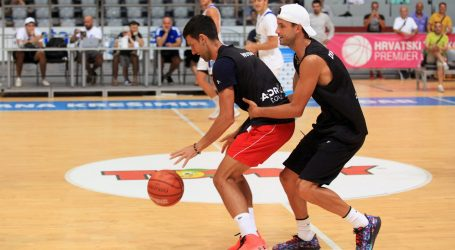 Đoković i Čilić zaigrali košarku u Zadru i pokazali zavidno znanje