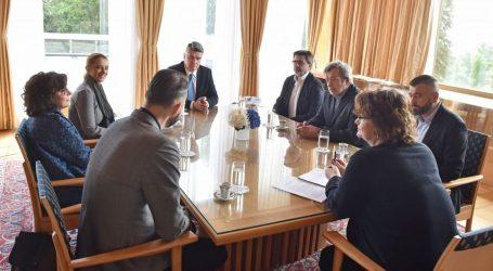 Milanović razgovarao s predstavnicima Klastera kreativnih i kulturnih industrija