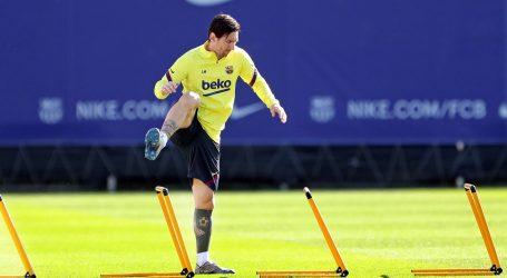 Messi zbog ozljede propustio dva momčadska treninga