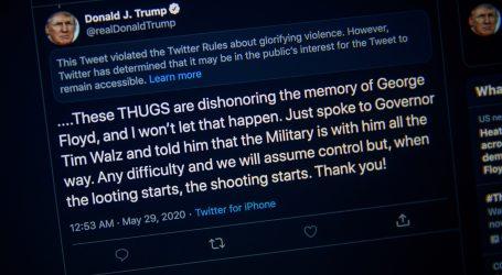 DRUŠTVENE MREŽE PROTIV TRUMPA: Snapchat prestao promovirati Trumpov račun jer potiče nasilje