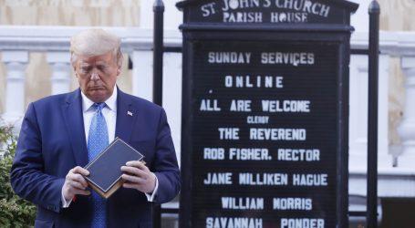 Katolički vašingtonski nadbiskup kritizirao Trumpov posjet centru Ivana Pavla II.