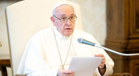 """Papa poziva da se nakon pandemije """"pruži ruku siromašnima"""""""