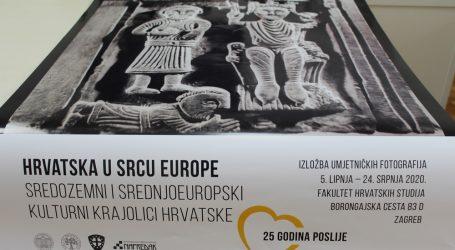 """Izložba """"Hrvatska u srcu Europe"""" na Fakultetu hrvatskih studija"""