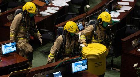Honkongški zastupnici izazvali incident u parlamentu zbog Tiananmena