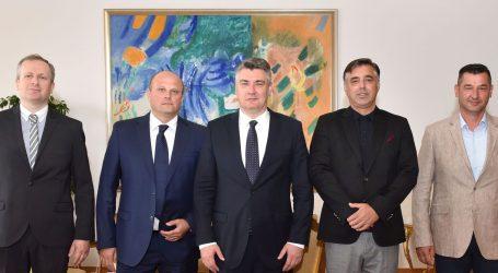 Milanović primio izaslanstvo Udruge lađara Neretve