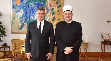 Milanović razgovarao s muftijom Azizom ef Hasanovićem