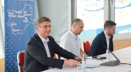 Plenković: U 4. i 5. izbornoj jedinici HDZ je tradicionalno najjača stranka