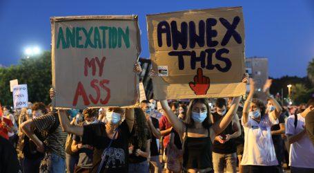 Tisuće Izraelaca prosvjedovale protiv Netanyahuovog plana aneksije Zapadne obale