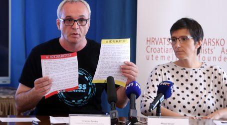"""VIDEO: HND i SNH: """"Političari svojim ponašanjem svakodnevno dokazuju da ne znaju čemu služi novinarstvo"""""""