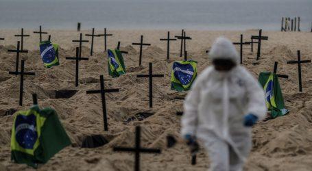 Brazil drugi u svijetu po broju umrlih od koronavirusa