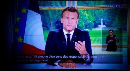 Macron proglasio prvu pobjedu protiv covida-19 i pozvao na samodostatnost Europe