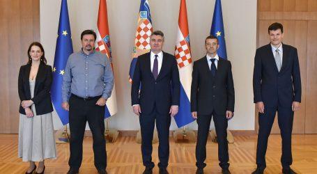 Predsjednik Milanović sastao se s predstavnicima udruge Glas poduzetnika
