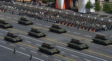 Tisuće ljudi na moskovskoj vojnoj paradi povodom kraja Drugog svjetskog rata
