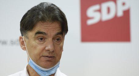 SDP napao Stožer, Plenković odmah uzvratio