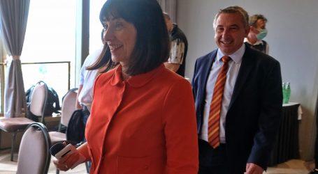 """VIDEO: HNS: """"Očekujemo barem tri mandata, koalirat ćemo s onim tko prihvati naš program, SDP-om ili HDZ-om"""""""