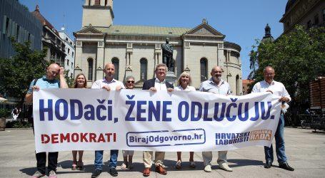 Demokrati i Hrvatski laburisti: Ženama neće oduzeti pravo Škoro, HDZ ni Most
