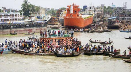 Najmanje 32 osobe poginule u potonuću trajekta u Bangladešu