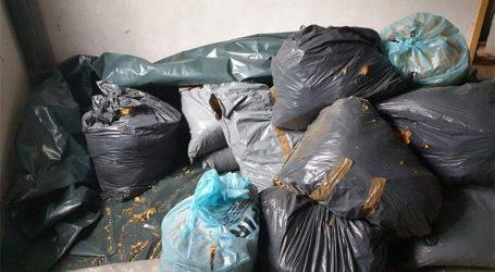 Zaplijenjeno 770 kilograma duhana, na ilegalnom tržištu vrijedi 154 tisuće kuna