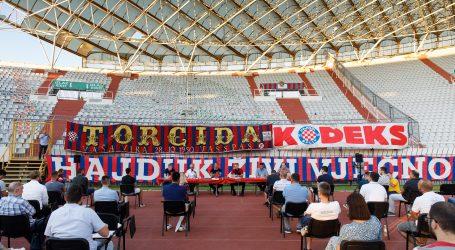 Na Poljudu predstavljena knjiga Naš Hajduk
