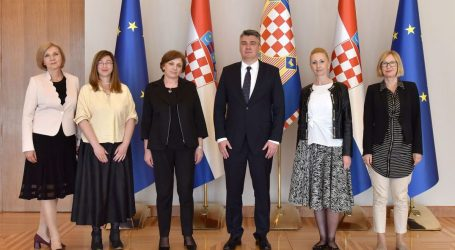 Milanović razgovarao s predstavnicama socijalnih radnika