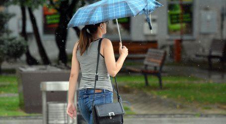 DHMZ: Očekuje nas nestabilno vrijeme, u Slavoniji obilnija kiša krajem dana
