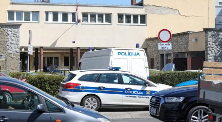 Dojava o bombi u policijskoj postaji Dubrava: Pirotehničari provjeravaju teren