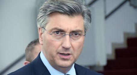 """Plenković: """"DORH se referirao na izjavu predsjednika Milanovića da je glavna državna odvjetnica 'moj čovjek' """""""