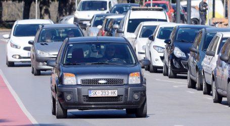 HAK: Promet je pojačan na gradskim prometnicama i obilaznicama