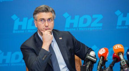 """Plenković u Imotskom: """"Prošlotjedna uhićenja potvrđuju da nije bilo pritisaka na DORH"""""""