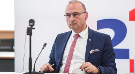 Grlić: U Hrvatskoj nema potrebe za prosvjedima protiv rasizma i policijske brutalnosti