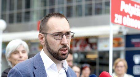 """TOMAŠEVIĆ: """"Tražimo izvanrednu sjednicu Sabora i usvajanje kvalitetnog Zakona o obnovi"""""""