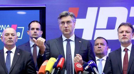 """HDZ ODGOVORIO VUKASU: """"Već na prvom koraku, uplašeni Bernardić pobjegao glavom bez obzira"""""""