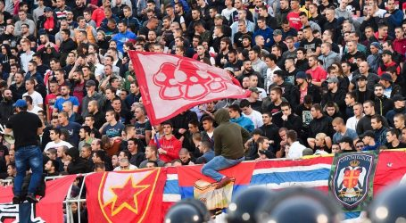 Derbi Partizan – Crvena Zvezda s tribina pratilo 16.000 navijača