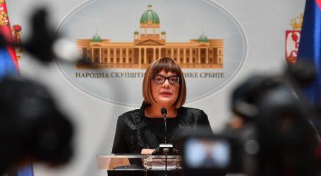 Koronavirus u Skupštini Srbije: Zaraženi Maja Gojković i Aleksandar Vulin