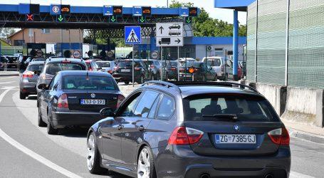 HAK: Gužve na granicama za ulazak u Hrvatsku