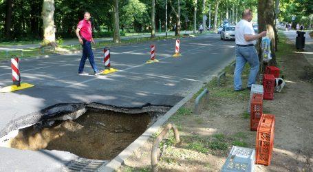ZAGREB: Sanirana rupa na Bukovačkoj, normalizacija prometa od 17 sati