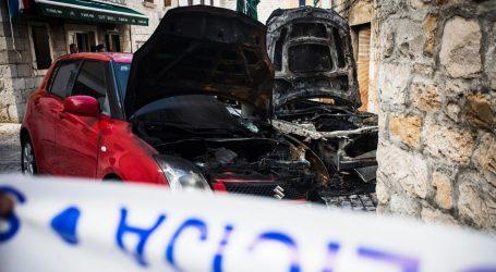 KAŠTEL LUKŠIĆ: Izgorio BMW jednog od ranjenih u nedjeljnom okršaju