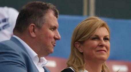 I Grabar-Kitarović bila na zadarskom turniru, ali ne mora se testirati