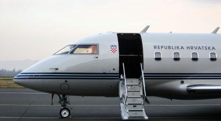 Kvar državnog zrakoplova dogodio se pri slijetanju u Dubrovnik
