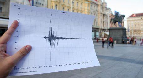 Dva slabija potresa noćas na zagrebačkom području