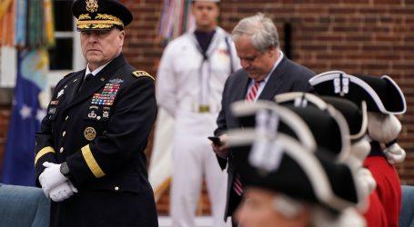 Šef vojske SAD-a se ispričao što je hodao uz Trumpa do crkve