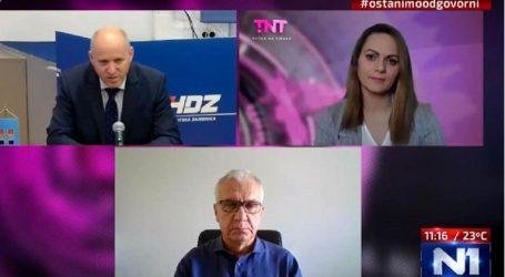 """Okršaj Bačića i Ostojića: Jedan drugoga optuživali za korupciju, jedino se složili oko pozdrava """"ZDS"""""""