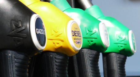 Cijene goriva neznatno pale