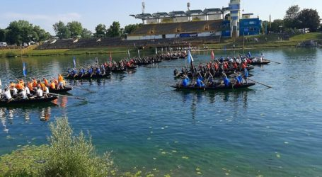 Hrvatska ratna mornarica sudjelovala na 5. Lađarskom kupu grada Zagreba